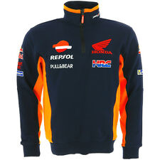 Honda Repsol Moto GP Team Blue Sweatshirt Official 2017