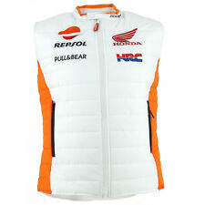 Honda Repsol Moto GP Team White Body Warmer Official 2017