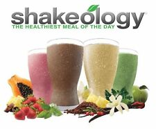 Shakeology single packet or pamphlet Chocolate Vegan Tropical Strawberry Vanilla