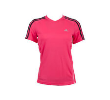 NEW ADIDAS CLIMACOOL V NECK TRAINING TEE WOMENS TOPS
