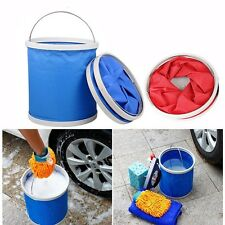 Outdoor Camping Fishing Folding Collapsible Bucket Water Container Car Storage