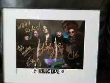 killcode autographed 8x10 all members