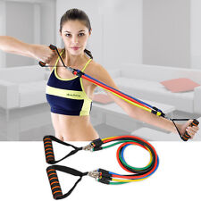 Strong Resistance Bands Home Latex Yoga Pilates Exercise Fitness Workout Unisex