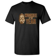 Wookie Of The Year Sarcasm Pun Humor Graphic Cool Gift Funny Novelty T Shirts