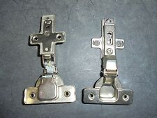 Lot of 2 Salice Cabinet Hinges with Winged Baseplates - Marked 2P6