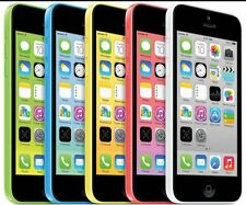 "Apple iPhone 5C-8GB 16GB 32GB GSM ""Factory Unlocked"" Smartphone Cell Phone WNW"