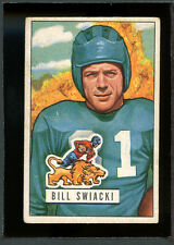 1951 Bowman Football #132 William Swiacki VG 97617