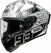 SHOEI X-14 MARQUEZ 4 TC-6  White Motorcycle Helmet