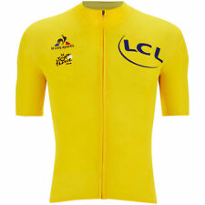 Le Coq Sportif Men's Tour de France 2016 Merino Short Sleeved Jersey - Yellow