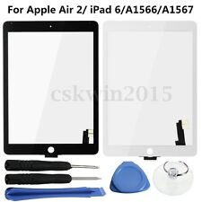 Touch Screen Digitizer Len Glass Lens + Tools For iPad Air 2/ iPad 6/A1566/A1567