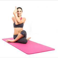10MM/8MM Yoga Mat Cushion Fitness Pilates Soft Gym Exercise Extra Thick Non-slip