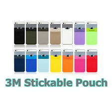 SINJIPOUCH 3M Stickable Pouch for Smart Phone Card,Money,Stuff cardholder pocket