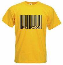 """BARCODE """"PERSON"""" T-SHIRT - Political Banksy Anti-Capitalist - Choice Of Colours"""