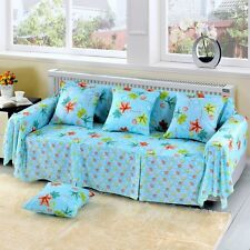 Floral Cotton Blend Slipcover Sofa Cover oAUl Protector for 1 2 3 4 seater hfqy