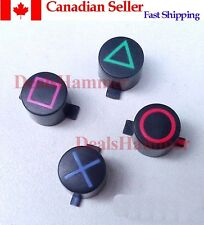 Custom Playstation PS3 Controller Action Buttons Mod Kit (Original Style)-Canada