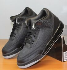 Nike Air Jordan 3 III Retro GS Flip Black Cement 315768-001 Grade School 4.5