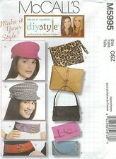 McCall's 5995 Hats, Bags and Belts    Sewing Pattern
