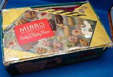 VINTAGE MIRRO NO.358 AM ALUMINUM COOKY PASTRY PRESS BOX 3 TIPS 12-PLATES COOKIES