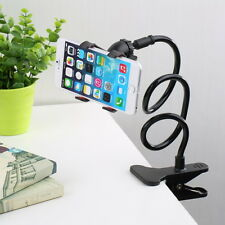 Universal Lazy Bed Desk Car Clip Stand Mount Holder For Cell Phone Long Arm NeBK