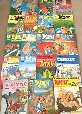 Adventures of Asterix Paperback Comic Books Complete Set BUY INDIVIDUALLY Uderzo