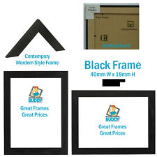 PACK OF 4,6,8,10 A4 CERTIFICATE, PHOTO FRAME, Black White silver Gold Pine Maho