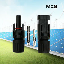 5-50 Pairs MC4 Plug Solar Panel Cable Connector Male and Female Cable Connector