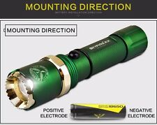 LED flashlight 300 meters long-range zoom charging outdoor hunting waterproof