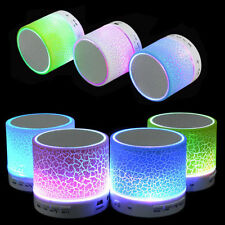 MINI LED Portable Wireless Bluetooth Speaker A9 TF USB Music Sound Subwoofer Box