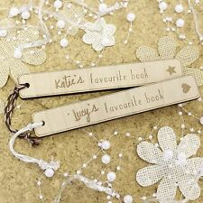 Childrens Personalised Bookmarks Gifts | Engraved Childrens Bookmark Birthday