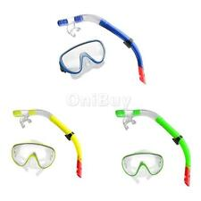Professional Diving Mask Goggles Snorkel Tube Set Water Sports Equipment New