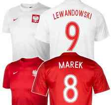 POLAND Supporters Shirt + Your Name & Number! Official Nike Euro'16 Fan Jersey!
