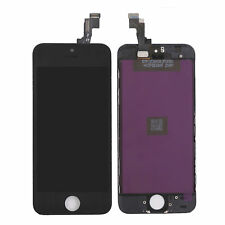 Black LCD Digitizer Assemblie Fits iPhone 5s A1453 AAA Quality