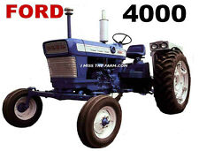 FORD 4000 Tractor tee shirt