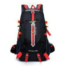Camping Professional Backpack 40L Rucksack Frame Internal Climbing Hiking Bag *