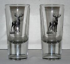 Cazadores Tequila 5-Oz. Heavy-Weighted Ltd. Edition Stag Logo Shot Glasses (Two)