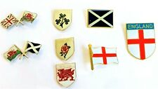 PIN BADGE Enamel UK Emblem  England Ireland Wales Scotland St George