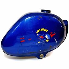 Vintage Gloria Intramotor moped gas tank fuel tank original blue paint