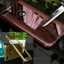 Girls Mirror Ultra thin Slim Full Body Case Cover Skin for iPhone 5 5S 6 7 Plus