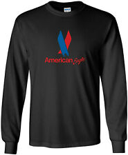 American Eagle Vintage Logo US Airline Long-Sleeve T-Shirt