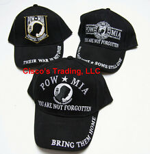 POW MIA Embroidered Baseball Cap Military Veterans Hat You Are Not Forgotten