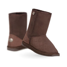 EMU Australia Womens Sheepskin Boots Platinum Stinger Lo in Chocolate