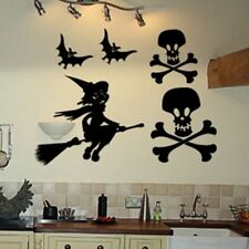 HALLOWEEN bats witch skulls wall sticker Graphic art Graphic spooky