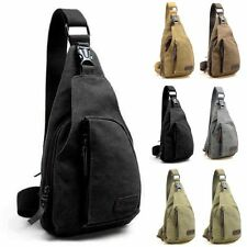 New Men Military Bag Canvas Satchel Travel Hiking Backpack Messenger Shoulder sl