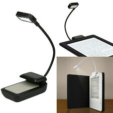 Flexible LED Light Clip-on Bed Table Desk Study Reading Lamp For Amazon Kindle