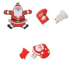 Christmas Santa/Sock USB 2.0 Memory Thumb Stick Flash Drive Disk 16GB/8GB/4GB