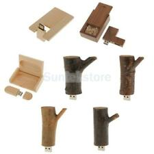 4GB /8GB /16GB USB 2.0 Memory Stick Flash Thumb Drive Wooden Data U Disk Gift