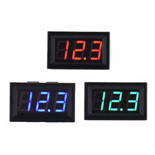 DC 3.2-30V Two-wire Voltmeter LED Panel Digital Voltage Meter Device Precious