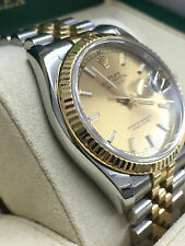 Rolex datejust 36mm 2007 Champagne dial