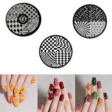 Fashion DIY Nail Art Image Stamp Stamping Plates Manicure Template 9 Styles BP