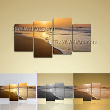 Large Modern Abstract Seascape Painting HD Prinit On Canvas Decorative Wall Art
